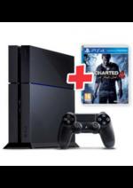 Promos et remises  : Le pack spécial PS4 500 Go+ jeu Uncharted 4 à 299,98€