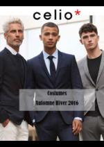 Promos et remises  : Lookbook costumes automne - hiver 2016