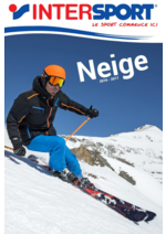 Catalogues et collections Intersport : Neige 2016-2017