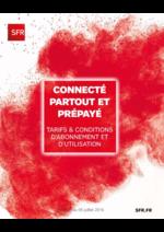 Catalogues et collections SFR : Connecté partout et prépayé