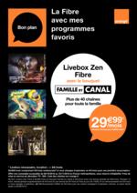 Promos et remises  : La fibre avec mes programmes favoris