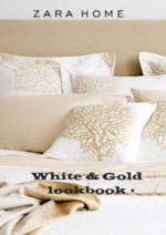 Catálogos e Coleções ZARA HOME : White & Gold lookbook