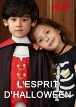 Catalogues et collections H&M : Lookbook enfant L'esprit d'Halloween