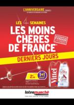 Prospectus Intermarché Super : Les 4 semaines les moins chères de France. Semaine 3