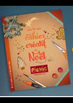 Catalogues et collections Picwic : Le cahier créatif de Noël
