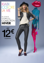 Catalogues et collections Kiabi : Kiabi colore la vie : Collection Hiver