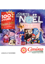 Catalogues et collections Supermarchés Casino : Les 100 jours Casino folies. Jouets de Noël