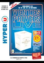Prospectus Hyper U : Ventes privées live 2ème semaine
