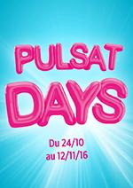 Promos et remises Pulsat : Les Offres PULSAT DAYS sont là !