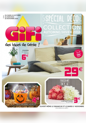 Collection automne hiver 2016 gifi for Collection jardin 2016 gifi