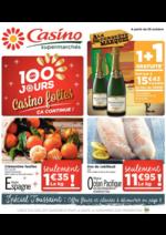 Prospectus Supermarchés Casino : Les 100 jours Casino folies ça continue !