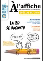 Prospectus Espace culturel E.Leclerc : À l'affiche Spécial BD 2016