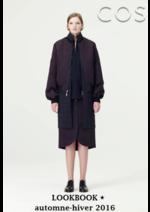 Catalogues et collections COS : Lookbook femme automne-hiver 2016