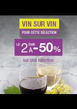Bons Plans Monoprix : Vin sur vin le 2ème à -50%