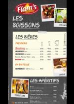 Promos et remises  : La carte des boissons