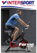 Catalogues et collections Intersport : Forme 2016-2017