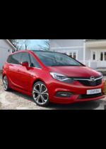 Catálogos e Coleções Opel : Venha descobrir o novo Zafira