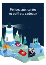Catalogues et collections Boulanger : Pensez aux cartes et coffrets cadeaux