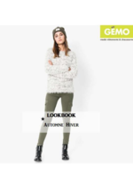 Catalogues et collections Gemo : Lookbook automne-hiver femme