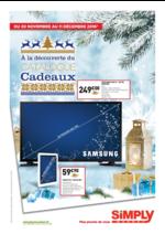 Prospectus Simply Market : À la découverte du catalogue Cadeaux