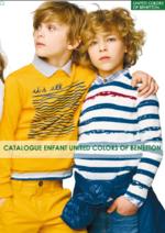Promos et remises  : Catalogue enfant United Colors of Benetton