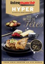 Prospectus Intermarché Hyper : Nos menus de fêtes