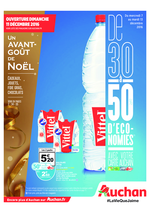 Prospectus Auchan : De 30% à 50% de remise immédiate