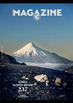 Journaux et magazines Air France : Le magazine du mois de janvier 2017