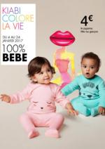 Catalogues et collections Kiabi : 100% Bébé