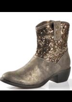 Promos et remises  : Les boots marron à 17,99€ au lieu de 35,99€