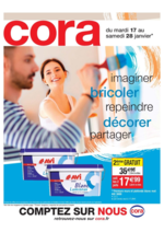 Prospectus Cora : Imaginer, bricoler, repeindre, décorer, partager