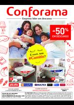 Folhetos Conforama : Especial descanso até -50%