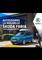 Tarifs Skoda : Le tarif des accessoires Skoda Fabia