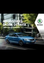 Promos et remises  : Les tarifs des accessoires Skoda Octavia