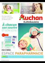 Prospectus Auchan : À chacun son sourire et son soin !