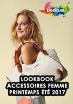Catalogues et collections Desigual : Lookbook accessoires femme printemps été 2017