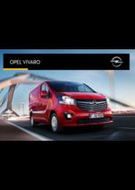 Catalogues et collections opel : Opel Vivaro