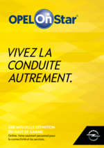 Catalogues et collections opel : OPEL On Star