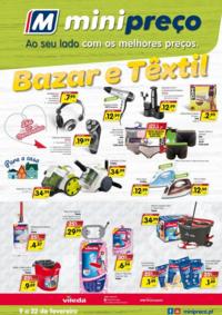 Folhetos Minipreço Parking Alcácer do Sal : Bazar e Têxtil