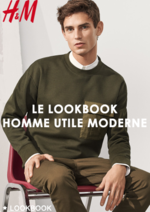 Promos et remises  : Le lookbook homme Utile moderne