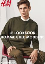 Catalogues et collections H&M : Le lookbook homme Utile moderne