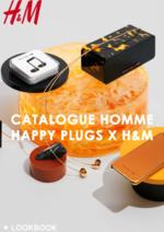Catalogues et collections H&M : Catalogue homme Happy plugs x H&M