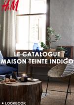 Promos et remises  : Le catalogue maison Teinte indigo