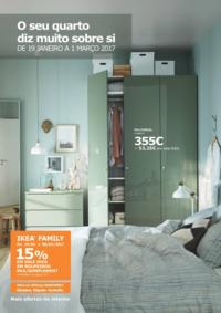 Folhetos IKEA Loures : O seu quarto diz muito sobre si