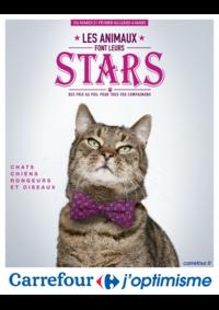 Prospectus Carrefour GENNEVILLIERS : Les animaux font leurs stars