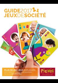 Guides et conseils Picwic GENNEVILLIERS : Jeux de société - guide 2017