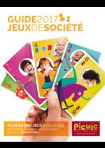 Promos et remises  : Jeux de société - guide 2017