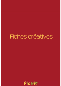 Prospectus Picwic MAUREPAS : Fiches créatives