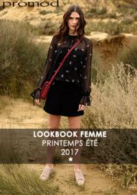 Catalogues et collections Promod Angers : Lookbbook printemps été 2017