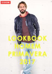 Catálogos e Coleções New Code Amadora - Venda Nova : Lookbook Homem primavera 2017